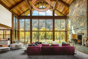 Western Montana Luxury home interior photography
